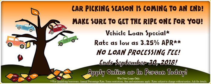 Auto Loans rate as low as 3.25% APR. Apply Today.