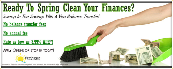 Spring Cleaning Visa Transfer